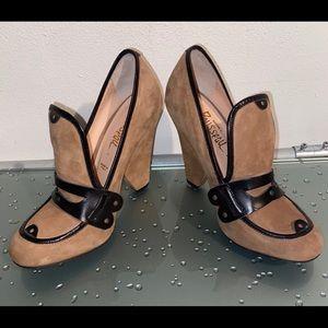 Jerome C. Rousseau RARE Vogue Shoes Size 37.5 7.5